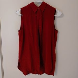 Vince silk blouse - short sleeve
